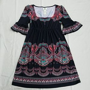 iCE Tunic Dress / Top Multi-Color Size 4